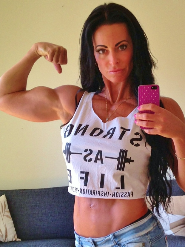 Adriana Kuhl, strong as life, fitness