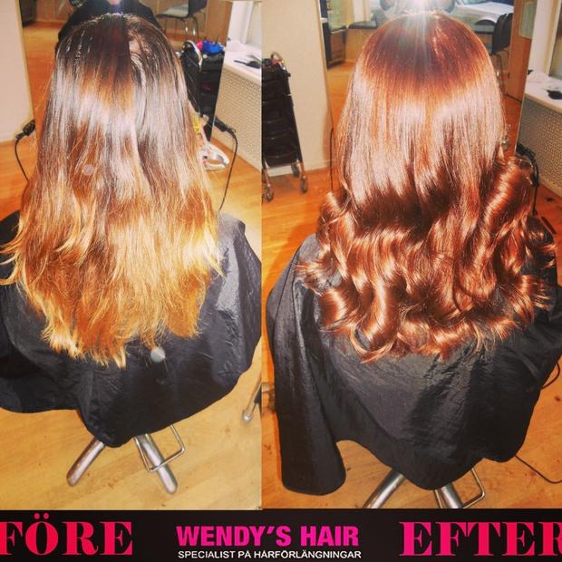 wendys hair, hårfärg, färga håret, frisör stockholm, hårförlängning, löshår, hairextensions