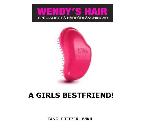 tangle teezer, wendys hair