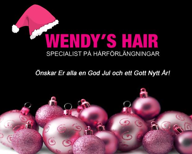 God jul, wendys hair, frisör stockholm, hårförlängning stockholm