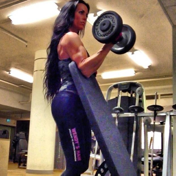 adriana kuhl, fitness, sats odenplan