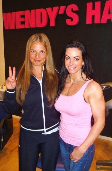 Magdalena Kowalczyk, Wendys Hair, Adriana Kuhl, gladiator, hårförlängning, gladiatorerna, löshår,hairextensions, hårfärg, färga håret