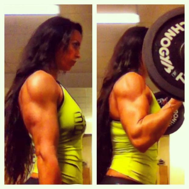 Adriana Kuhl, biceps, bodybuilding,sats odenplan, fitness, bodyfitness