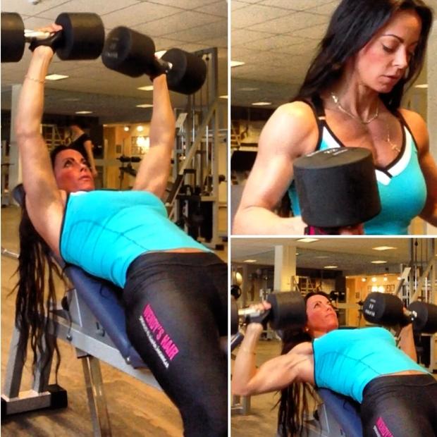 adriana kuhl, fitness