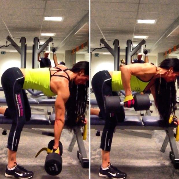 adriana kuhl, bodybuilding, rygg, fitness, muscles