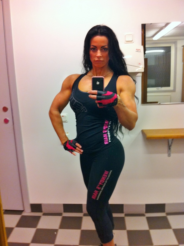 adriana kuhl, fitness, bodyfitness, bikini, gladiatorerna,wendys hair, muscles