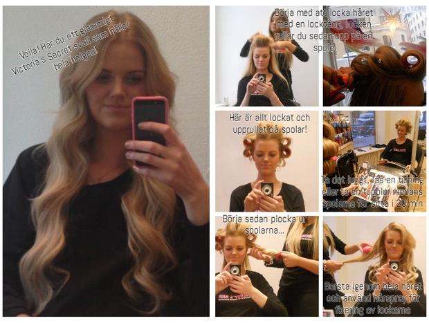 hollywoodlockar, wendys hair, hår, frisyr, frisör stockholm