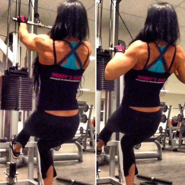 adriana kuhl, muscles, fitness, bodybuilding