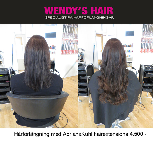 hairextensions hårförlänging