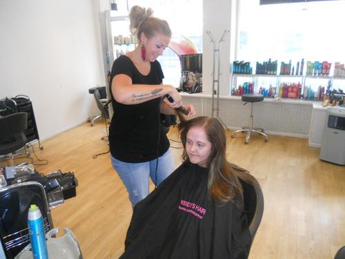 Min stora dag, wendys hair, frisör stockholm, hårförlängning, löshår, hairextensions