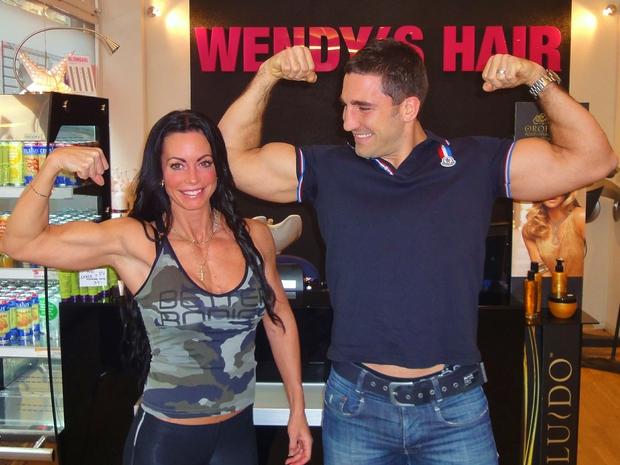 Adriana Kuhl, Peter Blaha, gladiator, Wendys Hair, gladiatorerna