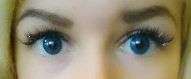 linser för mörka ögon