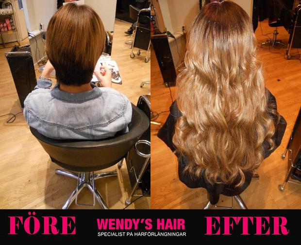 hårförlängning stockholm, wendys hair, löshår stockholm,extensions, hairextensions