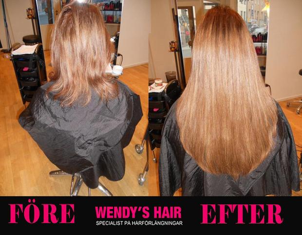 billig snygg hårförlängning, wendys hair, hår, frisör stockholm,löshår